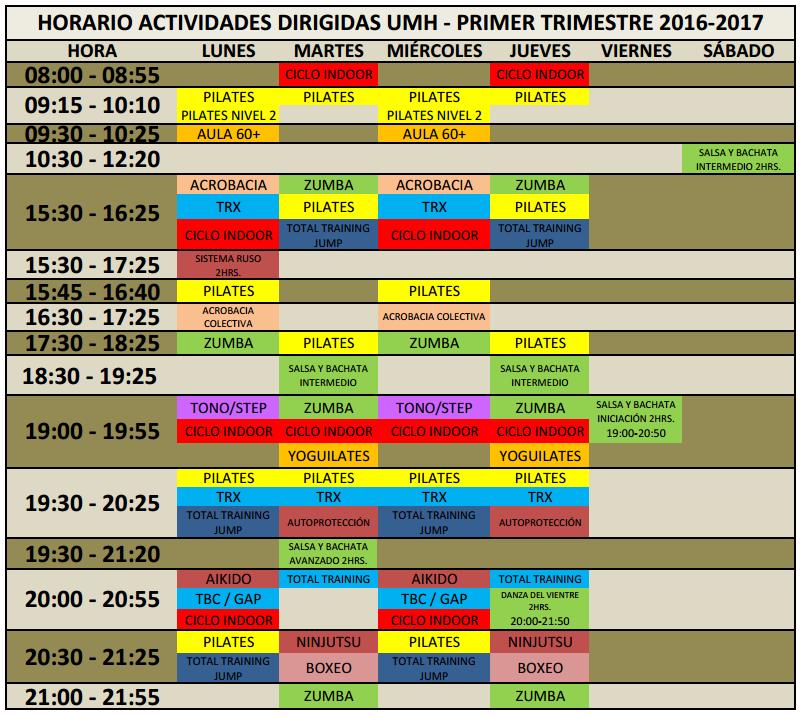 horario-clases-dirigidas-1o-trimestre-16-17