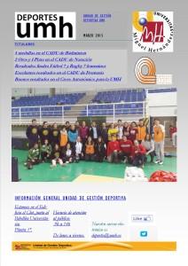 Boletín UGD 6 - MARZO 1