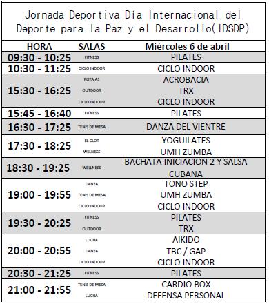 Día Internacional del Deporte para la Paz y el Desarrollo (IDSDP)