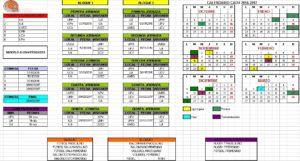 Calendario CADU 16-17