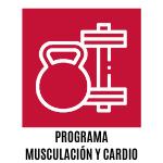 programa de musculación y cardio