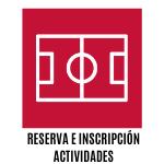 reserva e inscripción de actividades